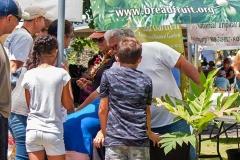 Lā 'Ulu - Breadfruit Institute booth