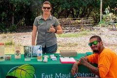Lā 'Ulu - East Maui Watershed Partnership booth