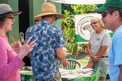 Lā 'Ulu - Maui Green and Beautiful booth