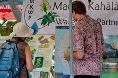 Lā 'Ulu - Mauna Kahalawai Watershed Partnership booth