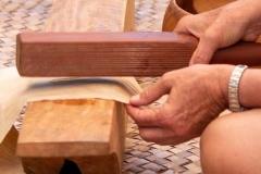 Lā 'Ulu - kapa making demo
