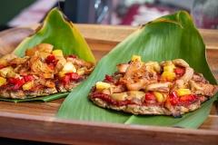 Lā 'Ulu - vegan 'ulu and yucca crust pizza