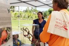 Lā 'Ulu - Maui Forest Bird Recovery Project booth