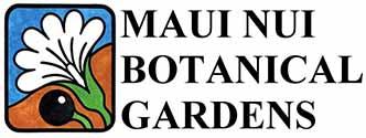 Logo for Maui Nui Botanical Gardens
