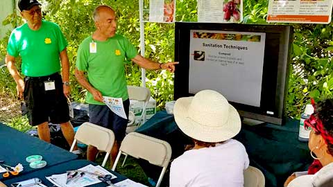 Maui Master Gardeners free fruit fly management class